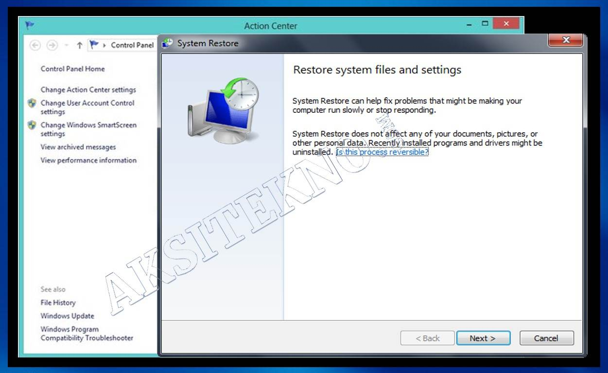 Cara Mengatasi Blue Screen Windows 7 Tanpa Install Ulang
