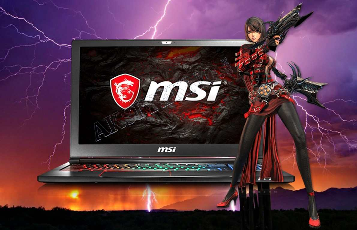 msi laptop gaming